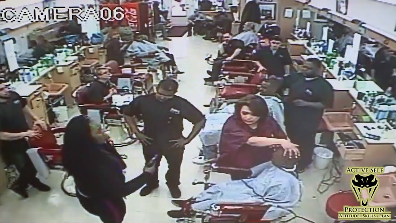 Irate Mom Draws Down on Son's Barber | Active Self Protection