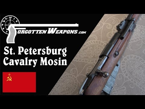 St Petersburg Cavalry School Mosin Carbine