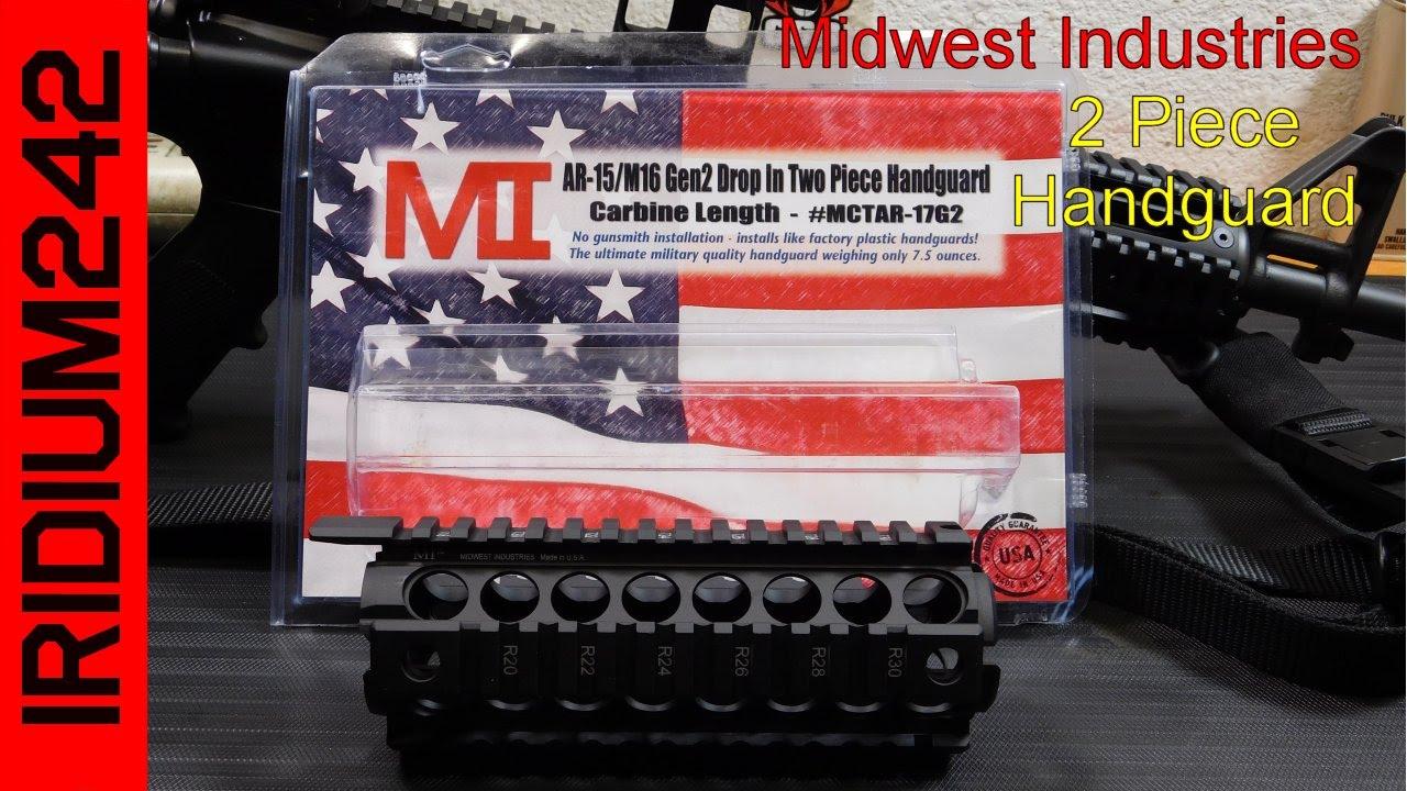 Midwest Industries: Gen2 Two Piece Drop-In Handguard