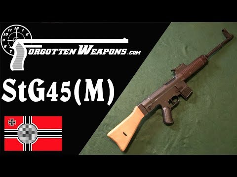 WW2 Mauser Becomes Heckler & Koch: the StG-45(M), or Gerat 06H