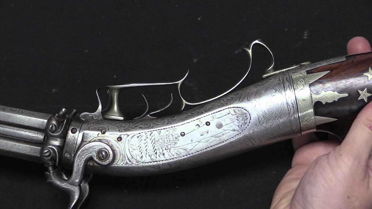 Whitmore 4-Barrel Swivel-Breech Rifle