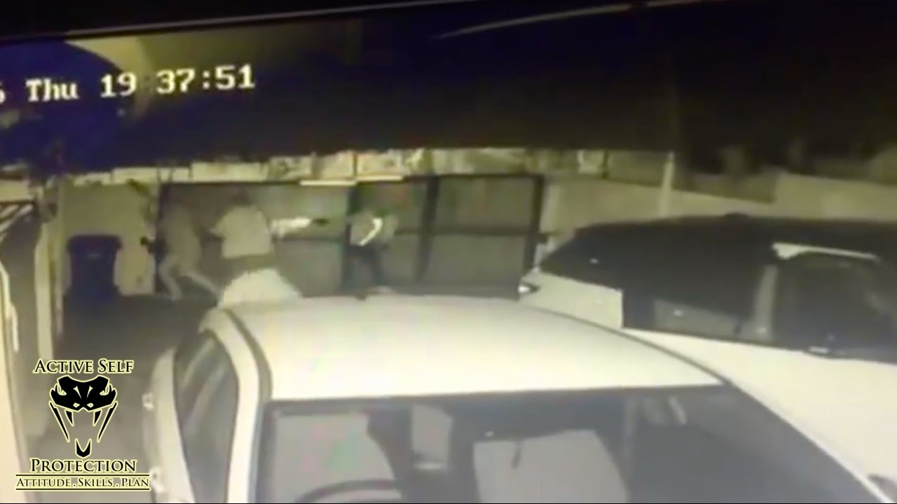 Carjackers Attack Car Owner During Carjacking | Active Self Protection
