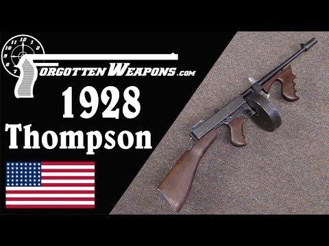The Marines' First SMG: 1921/28 Thompson Gun