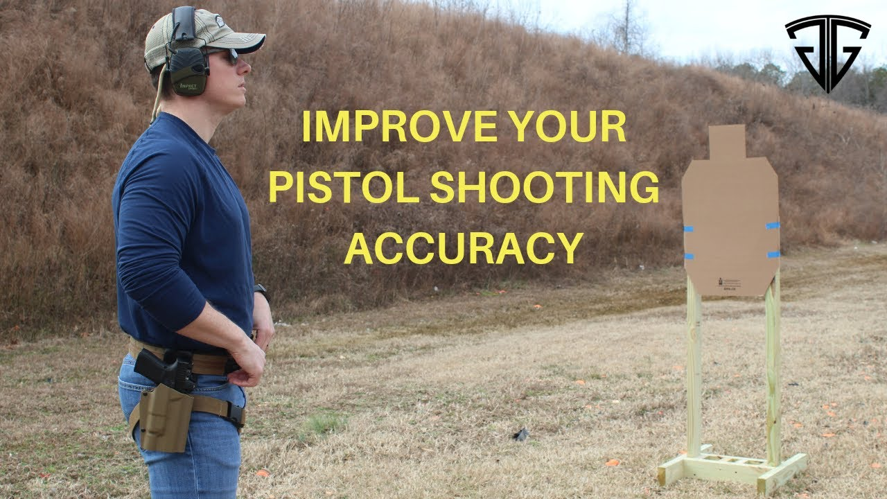 Pistol Shooting Drill to Improve Accuracy | Self Analyzing Drill