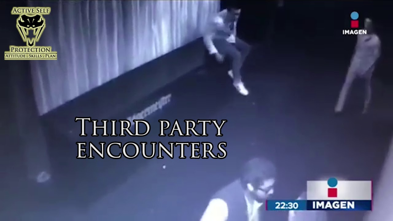 A Reminder to Be Very Careful Stepping Into Third Party Encounters | Active Self Protection