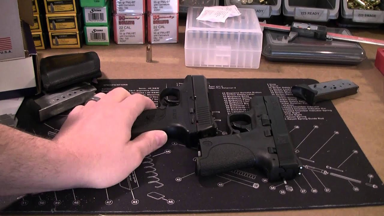 M&P Shield vs Ruger LC9