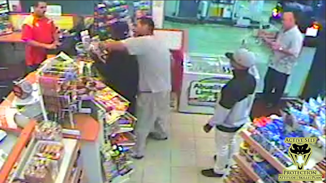 Bystander Gives Armed Robber an Educational Beat Down | Active Self Protection