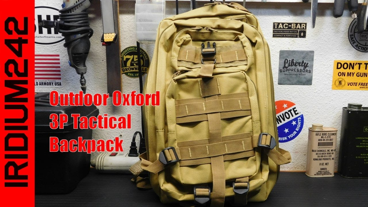 30L Outdoor Oxford 3P Tactical Backpack Review!