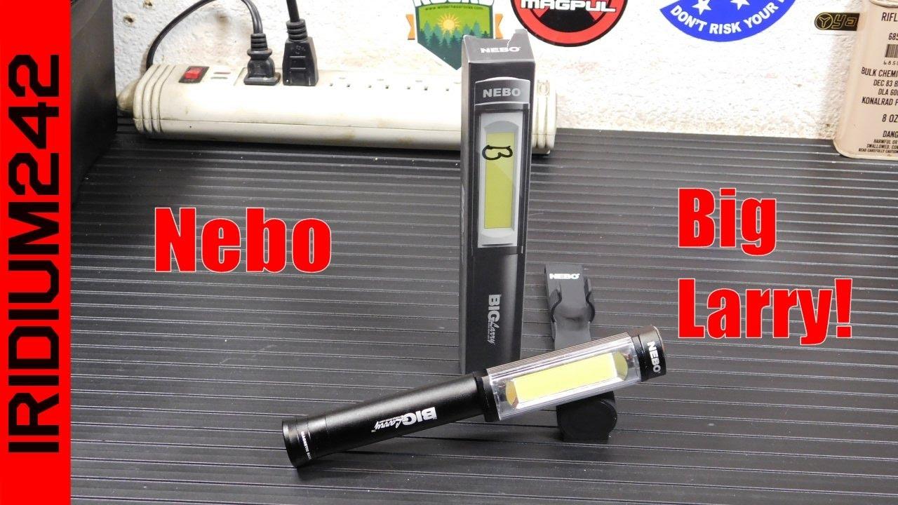 The Nebo BIG Larry LED Light