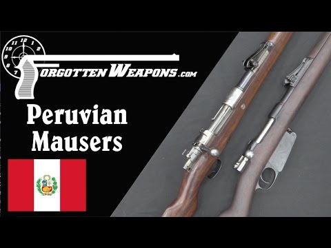 Peruvian Mausers: 1891 and 1909