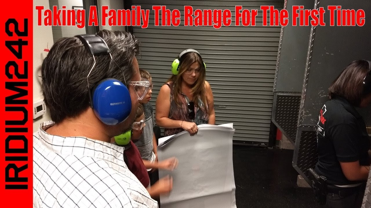 Taking A Family To The Range For The First Time!