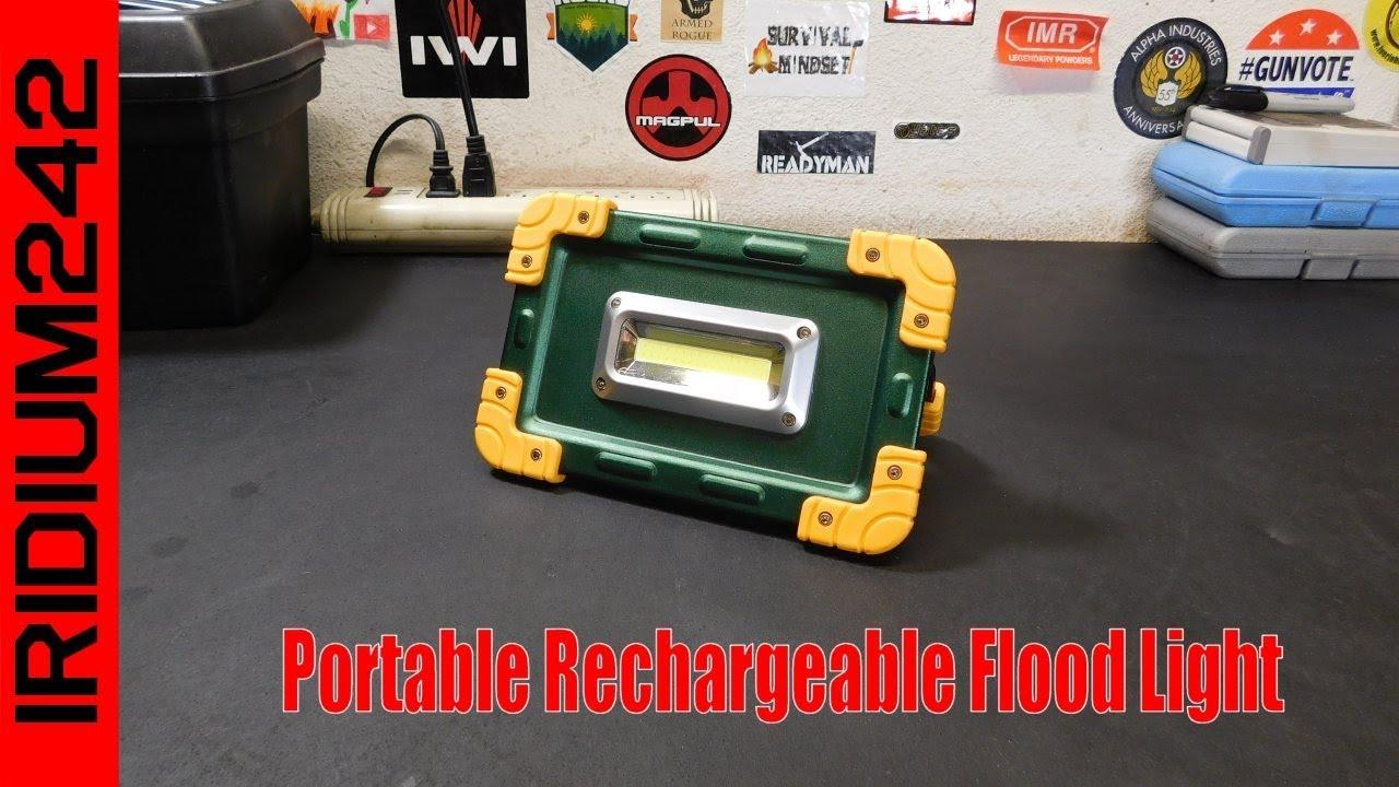 Portable Rechargeable Flood Light
