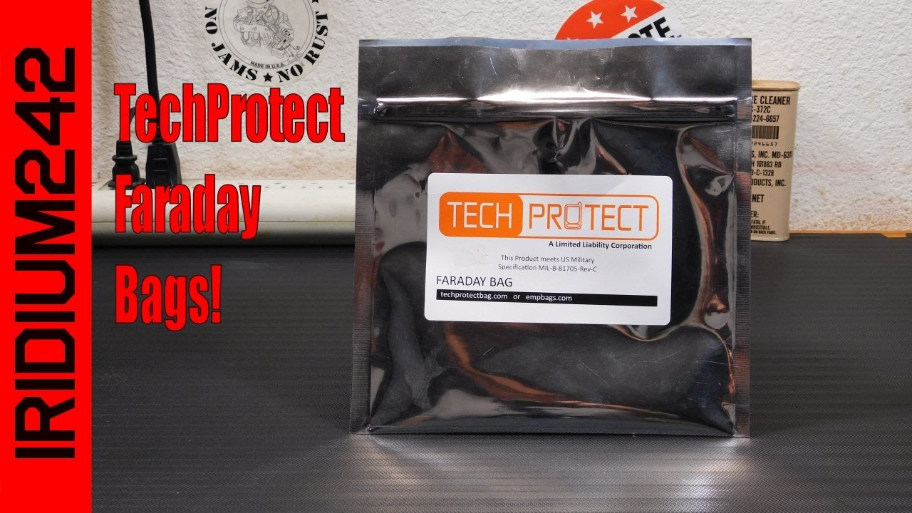 Tech Protect Faraday Bags: Easy EMP Protection!
