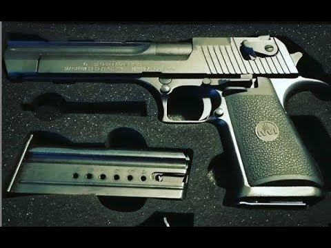 How to clean the Desert Eagle .357 Mag Mark XIX