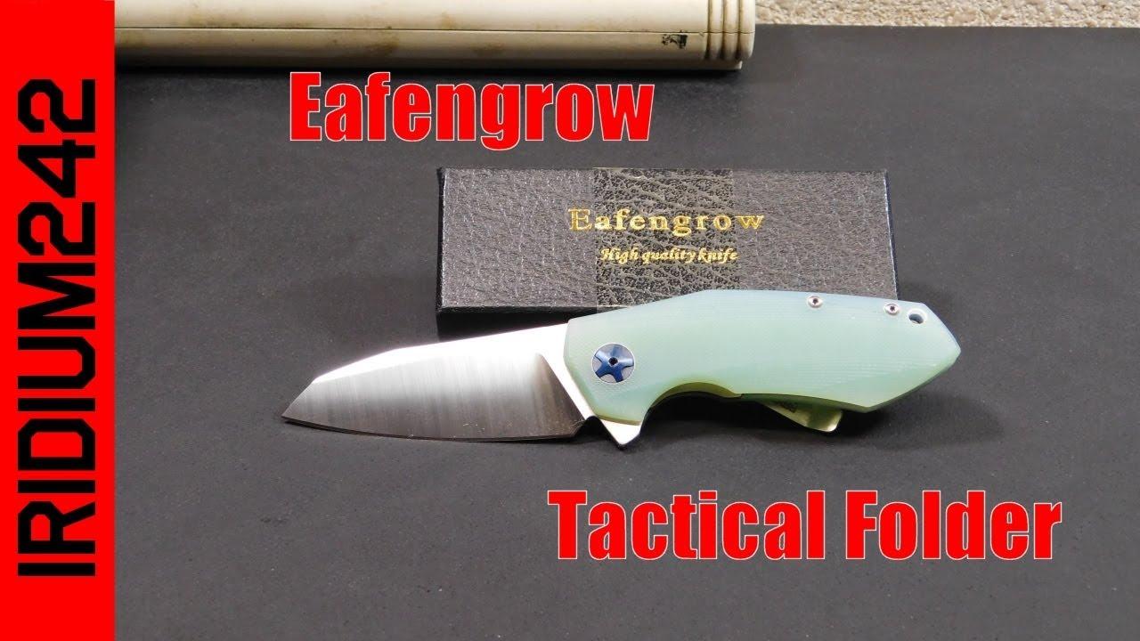 Eafengrow 0456 Tactical Folding Pocket Knife