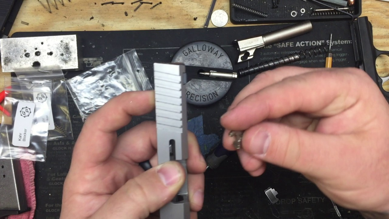 Kahr Striker Guide & Spring Kit Install.