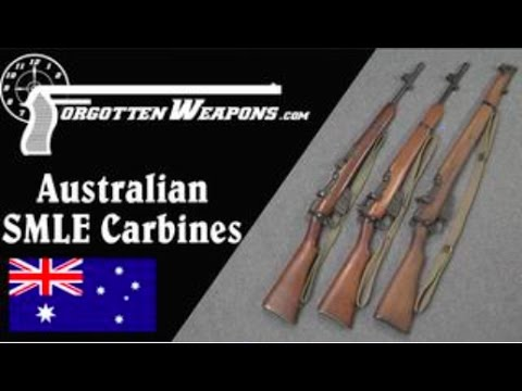 Australian Prototype Jungle Carbine Enfields