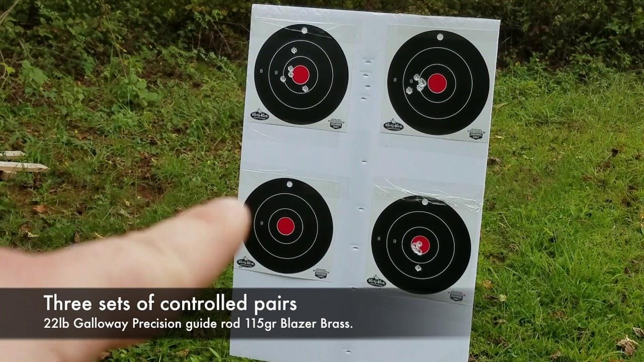 Beretta APX Guide Rod Test