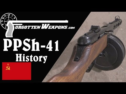 Shpagin's Simplified Subgun: The PPSh-41