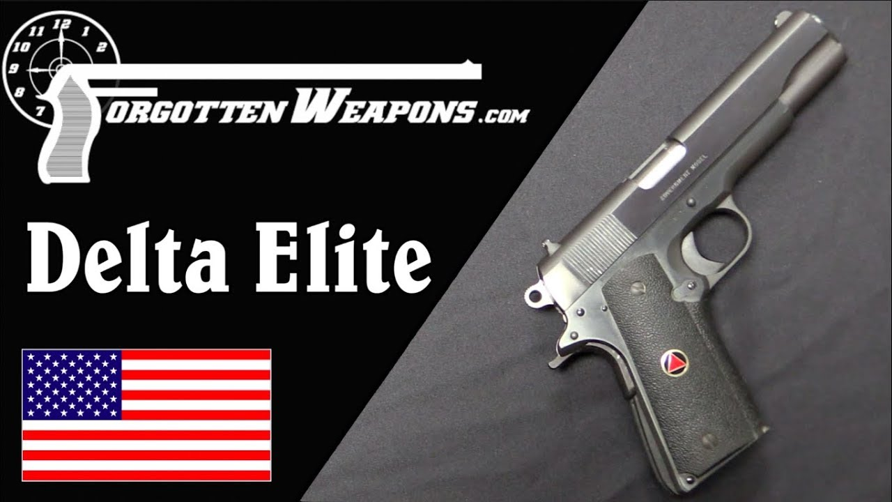 10mm is the Best Millimeter: the Colt Delta Elite