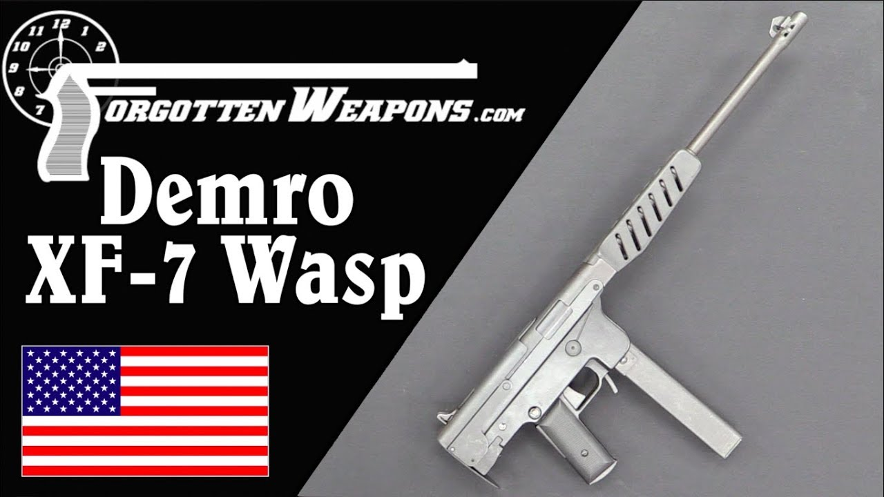 Demro XF-7 Wasp - An Open Bolt Semiauto From the 70s