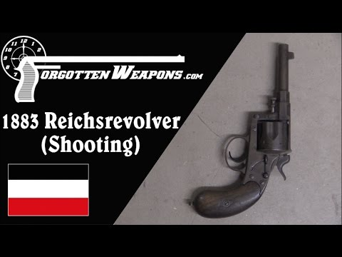 Shooting the 1883 Reichsrevolver