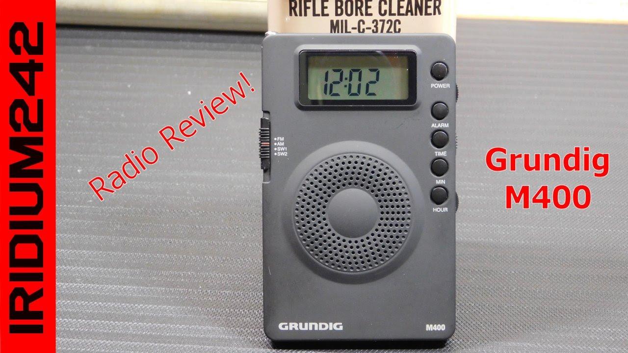 Grundig G400 Super Compact AM/FM Shortwave Radio