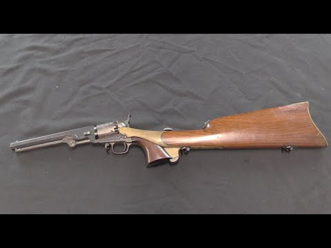 Presentation Colt 1851 w/ Canteen Stock