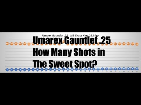 Umarex Gauntlet 25 Pellet Rifle How Many Shots In The Sweet Spot