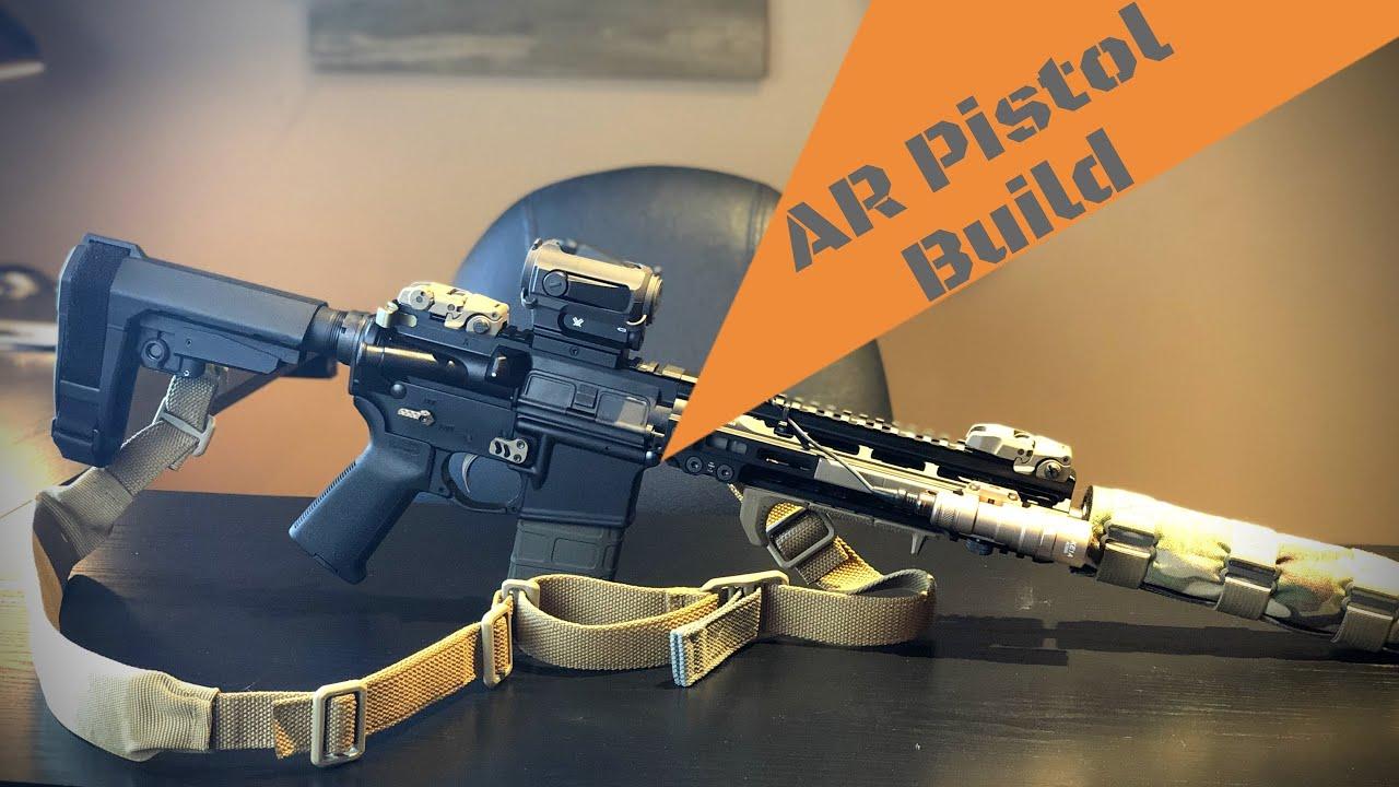AR Pistol   SBA3 Pistol Brace