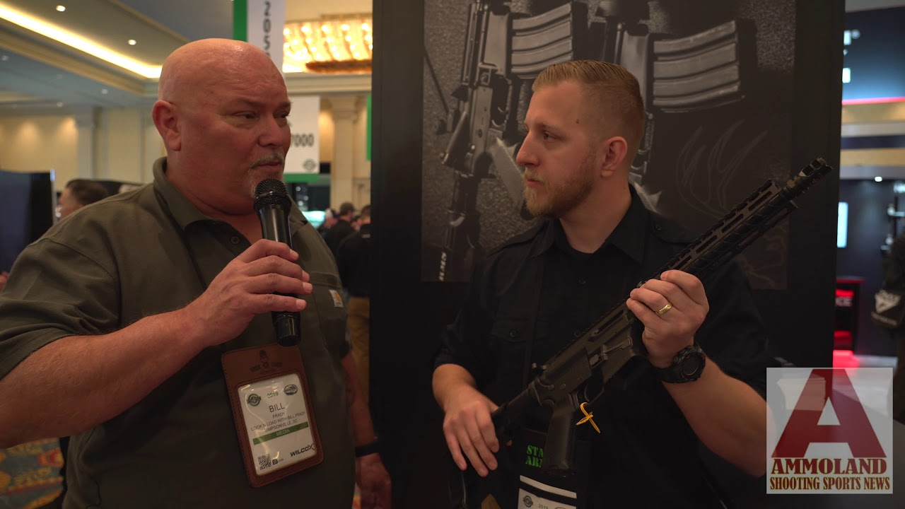 SHOTShow 2019 Stag Arms Introduces New 9mm Series of AR-15 Rifles