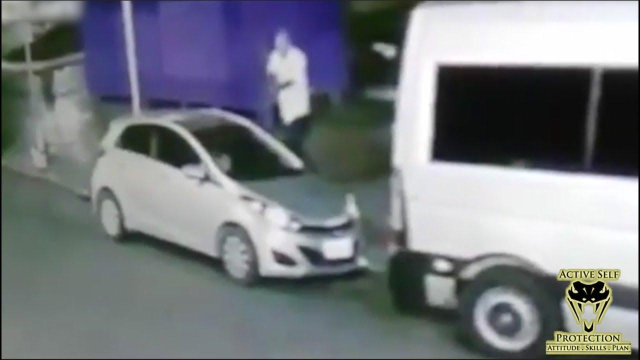 Carjacking Victim Retaliates Against Carjacker | Active Self Protection