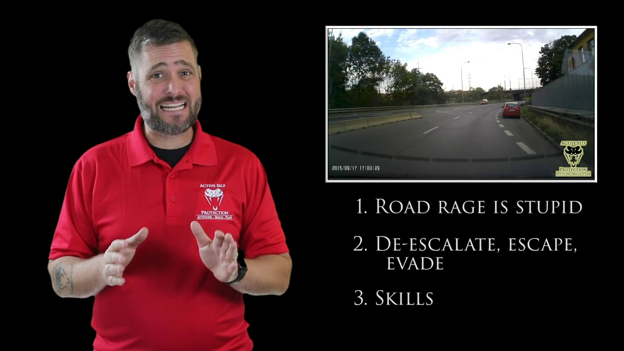 Road Rage Is Really Stupid | Active Self Protection