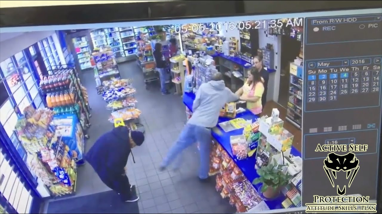 Robber Attacks Pregnant Clerk During Robbery Attempt
