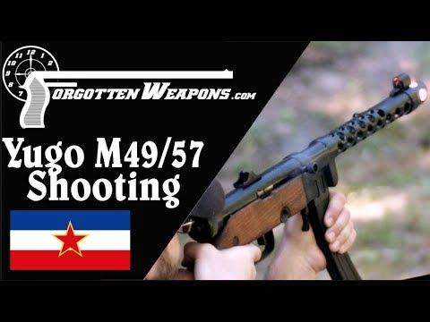 Shooting the Yugoslav M49/57 Submachine Gun