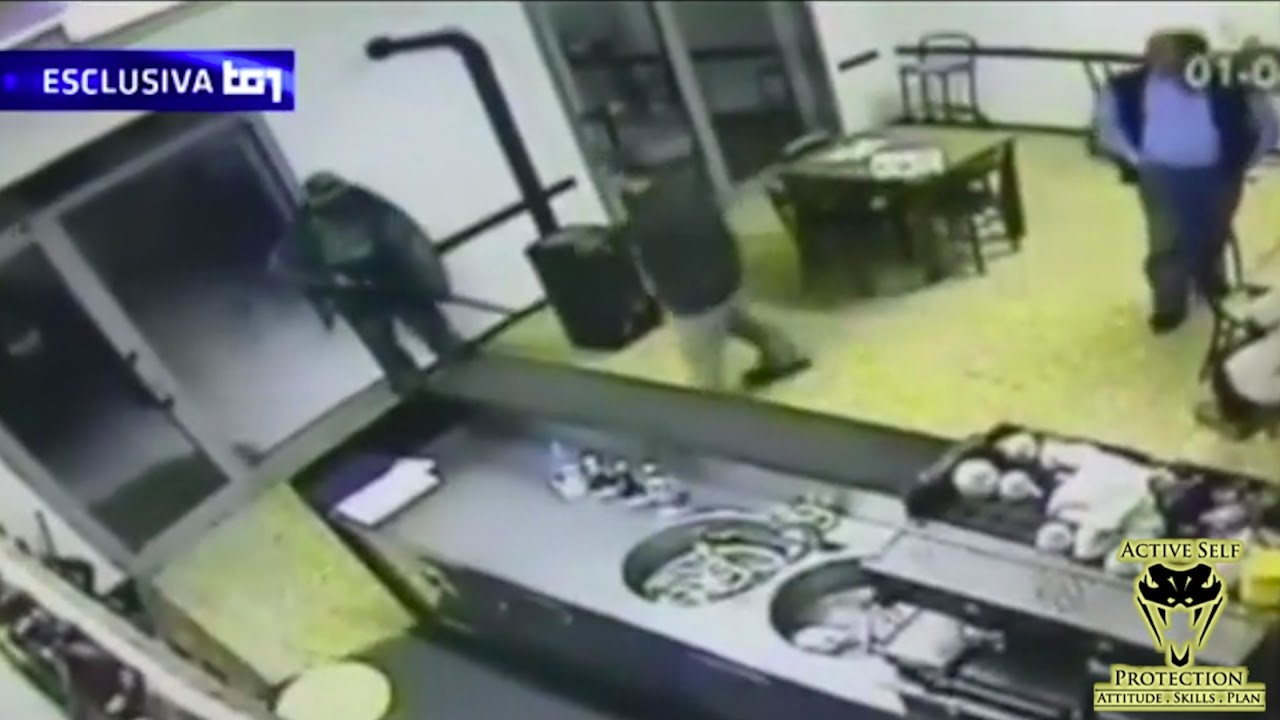 Brave Owner Disarms Armed Robber but Doesn't Stop the Threat | Active Self Protection