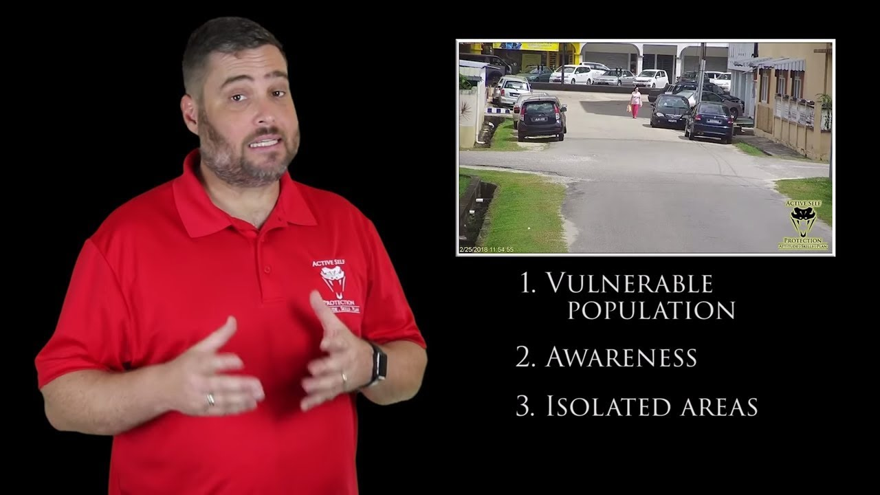 Beware Isolated Areas for Being Targeted | Active Self Protection