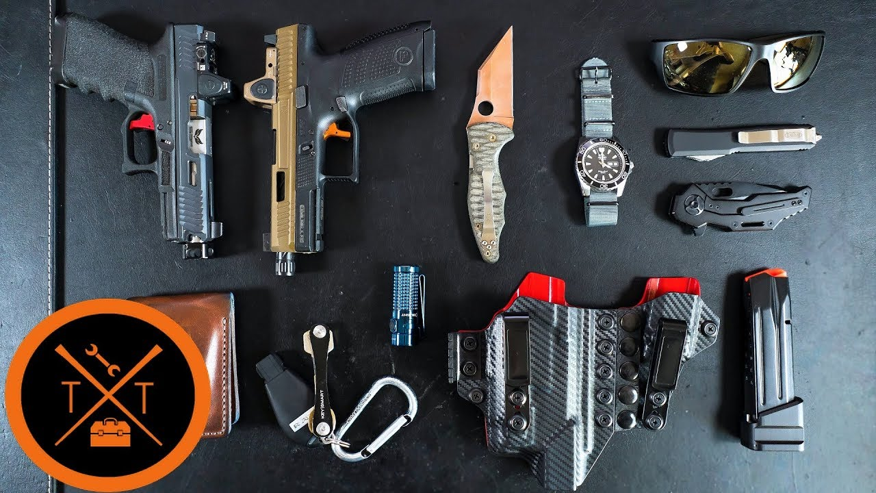 New EDC Gear 2019 // Appendix Carry Edition (w/Links & Codes)