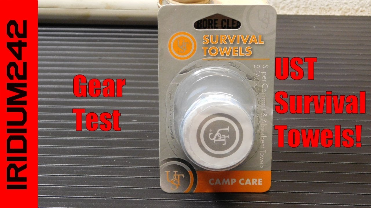 UST Survival Camp Towels