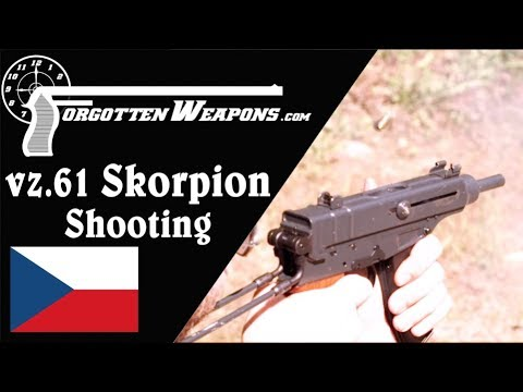 Shooting the Czech vz61 Skorpion: Machine Pistol or PDW?