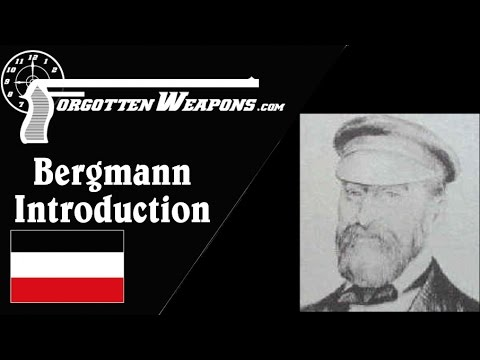 Introduction to the Bergmann Pistols