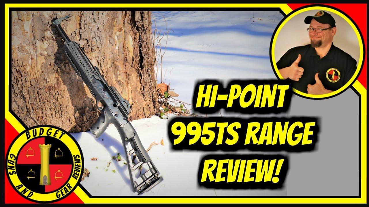 Hi-Point 995ts Range Report