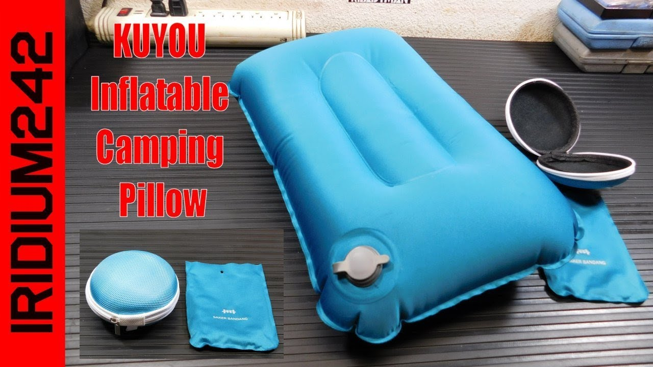 Bug Out/Camp Gear: KUYOU Inflatable Camping Pillow