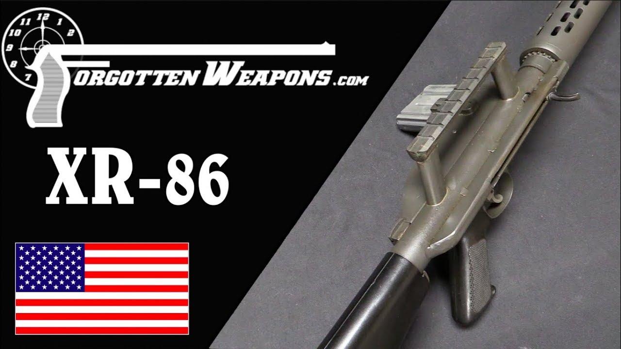 When M14 Meets M16: The Fort Ellis XR-86 Frankenrifle