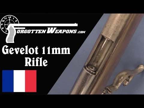 Gevelot 11mm Sliding-Chamber Pinfire Rifle
