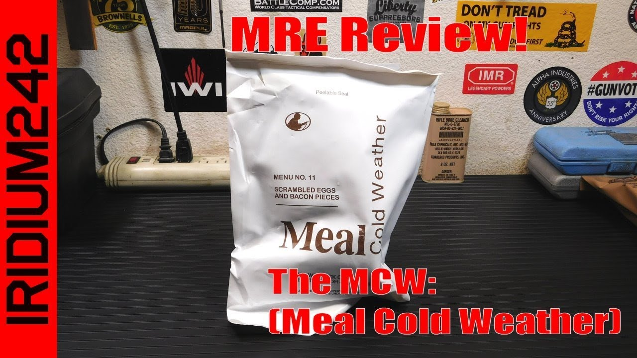 MRE Review: MCW (Meal, Cold Weather)