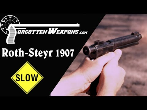 Slow Motion: Roth Steyr 1907