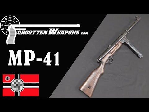 The Schmeisser MP41: A Hybrid Submachine Gun