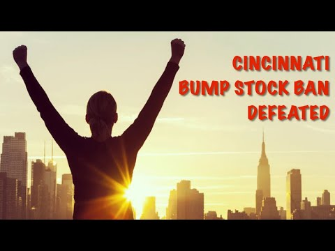 Cincinnati Bump Stock Ban Defeated