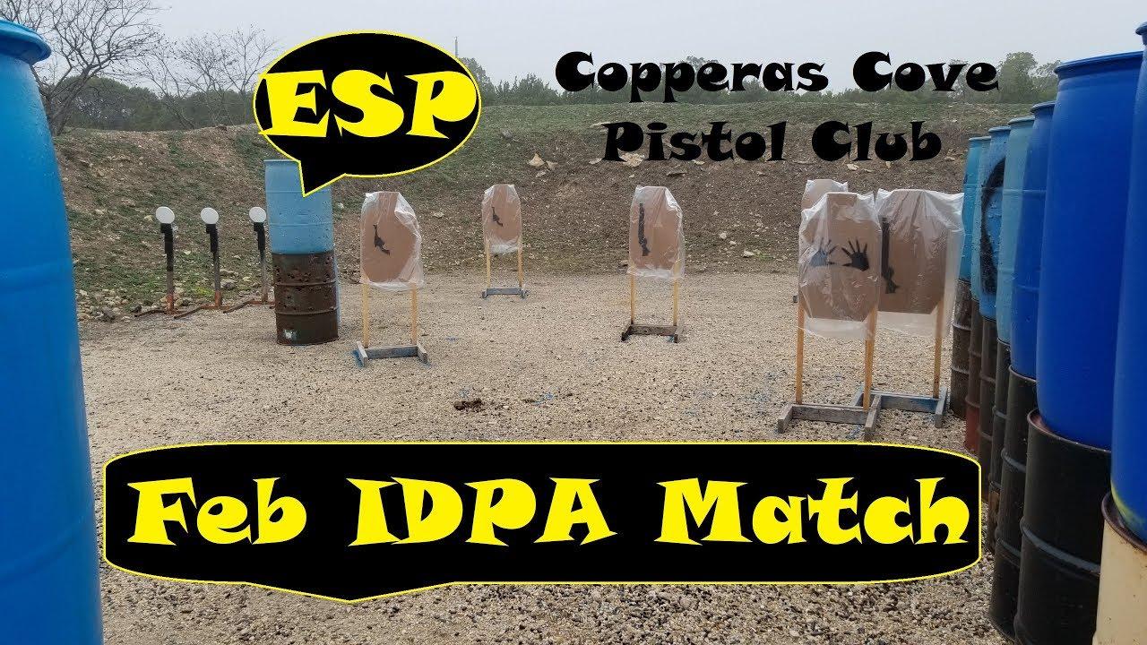 Glock 22 Gen 3 IDPA @ CCPC Feb 2019